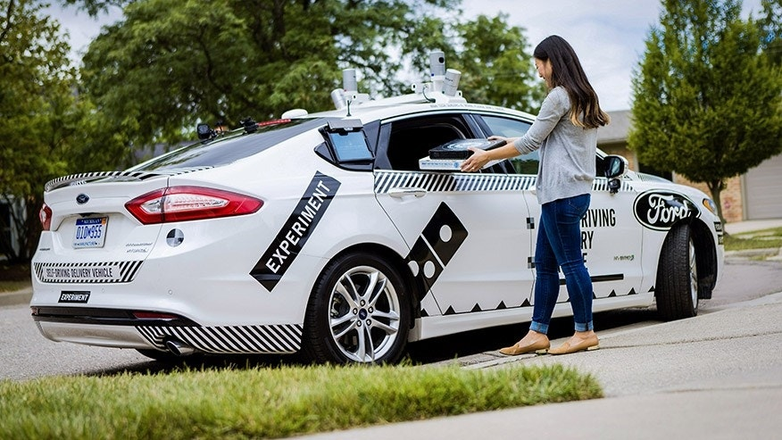 Ford, Domino's To Test Self-Driving Delivery Cars