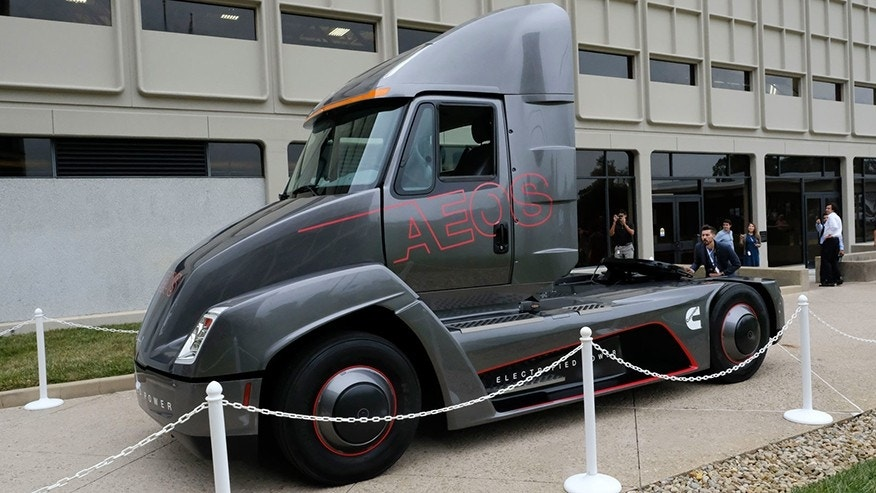 Cummins beats Tesla to electric truck