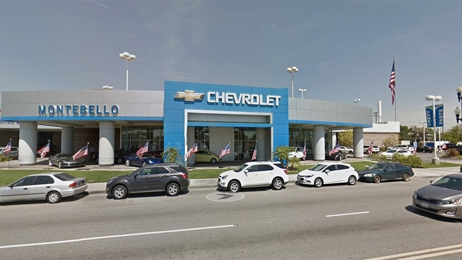 Chevy dealership CA