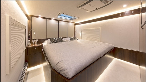 13 Million Motorhome Has Room For Your Family And Car