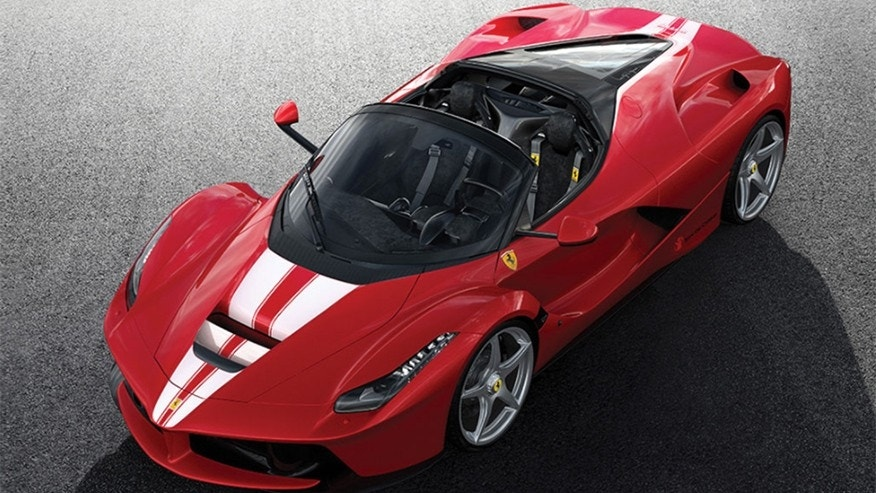 Ferrari fetches $10M at auction