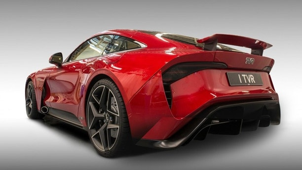 tvr & TVR Griffith sports car returns with Ford Mustang power | Fox News markmcfarlin.com
