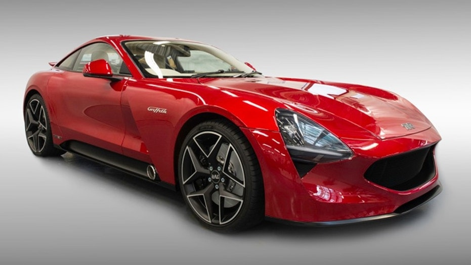 TVR Griffith Sports Car Returns With Ford Mustang Power