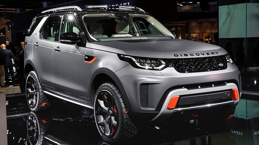 Land Rover Discovery SVX is a hardcore, V-8-powered off-roader | Fox News