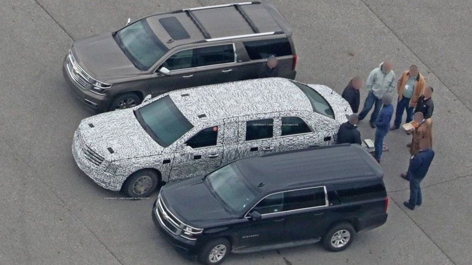 Trump S New Presidential Limo Could Be An October Surprise Fox News