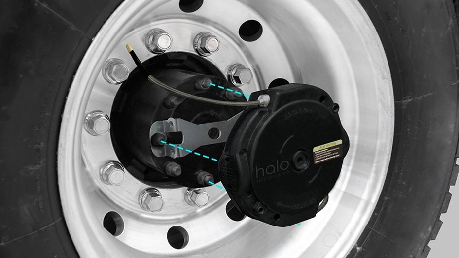 Ryder pumping up its truck fleet with innovative Halo Tire Inflator | Fox News