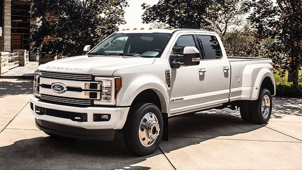 Ford unveils what it says is the most expensive mass-produced pickup ever