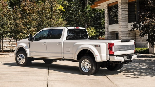 The 2018 F-Series Super Duty Limited is Ford's first $100000 pickup