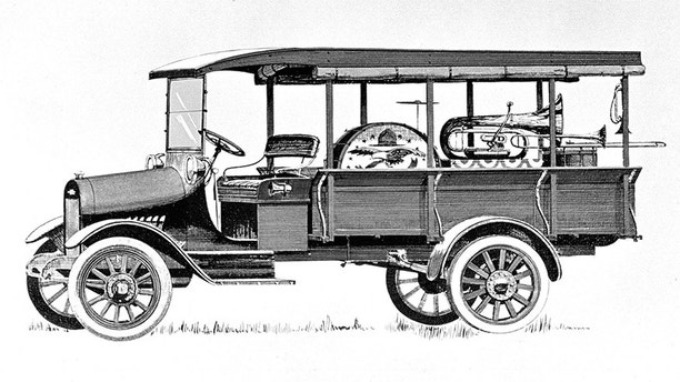 1918 Chevrolet Model T One-Ton Commercial Truck