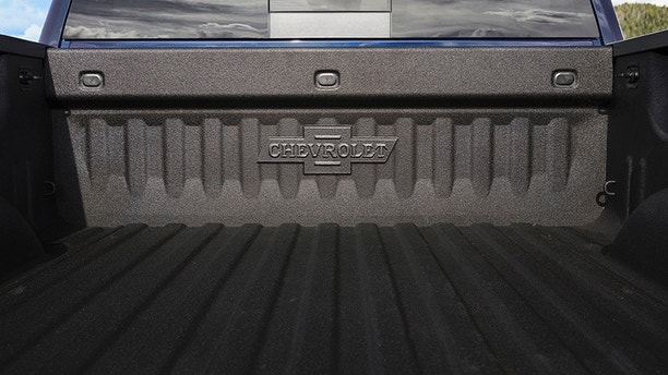 2018 Centennial Edition Silverado and Colorado include spray-in bedliners with heritage bowtie emblems.