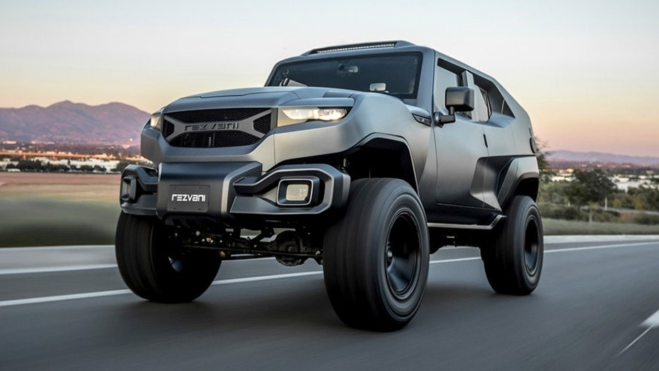 Rezvani Tank is the modern Wrangler that Jeep won't build