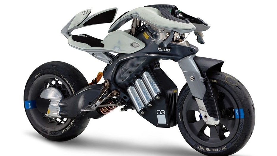 yamaha reveals wild electric motorcycle concept fox news. Black Bedroom Furniture Sets. Home Design Ideas