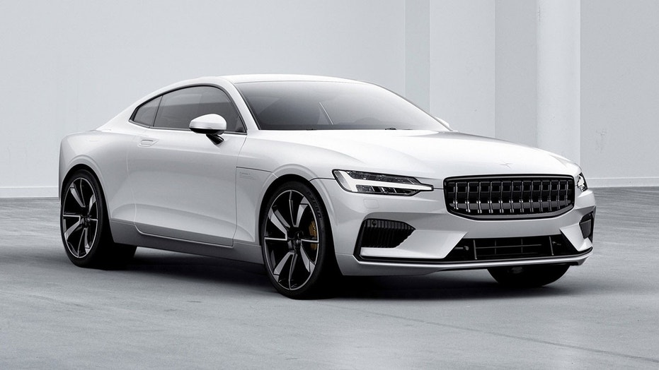 Volvo 39 s electric car brand polestar unveils first model for Star motor cars volvo