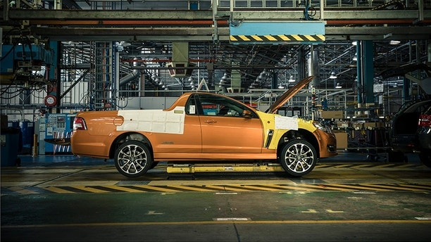 Car production ends in australia with last general motors for General motors cars models