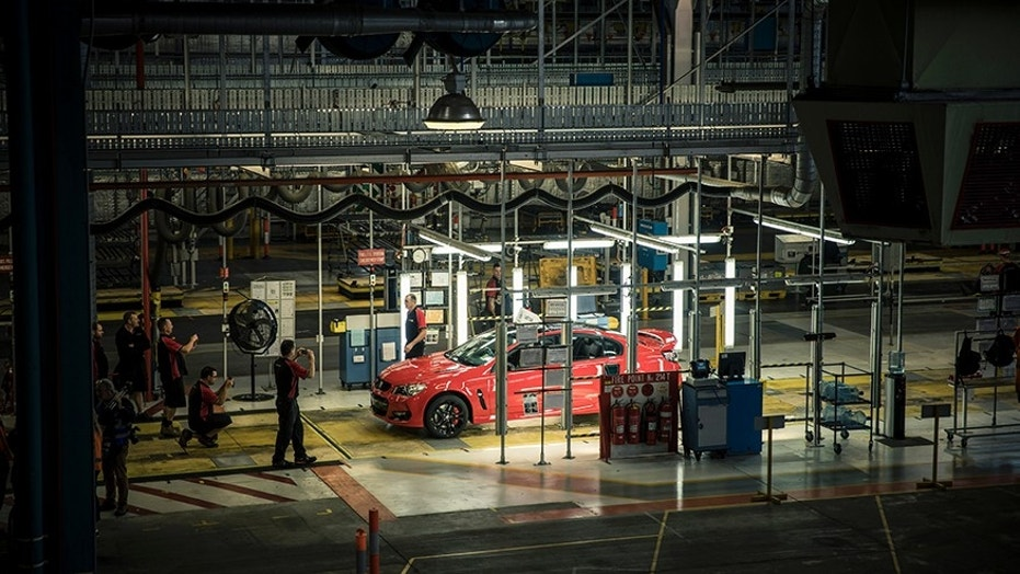 Car production ends in Australia with last General Motors model ...