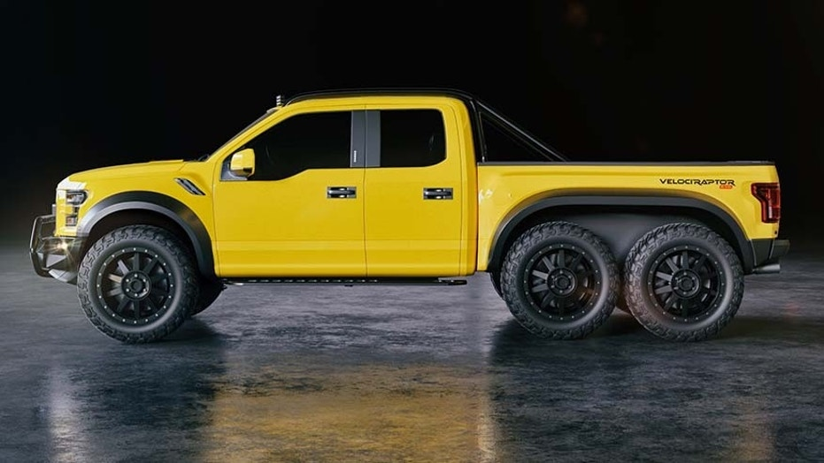 Hennesssey Velociraptor 6x6 Ford F 150 Will Have You