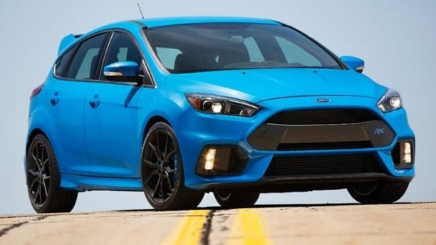 Ford Focus RS grabs world-first electronically controlled performance handbrake