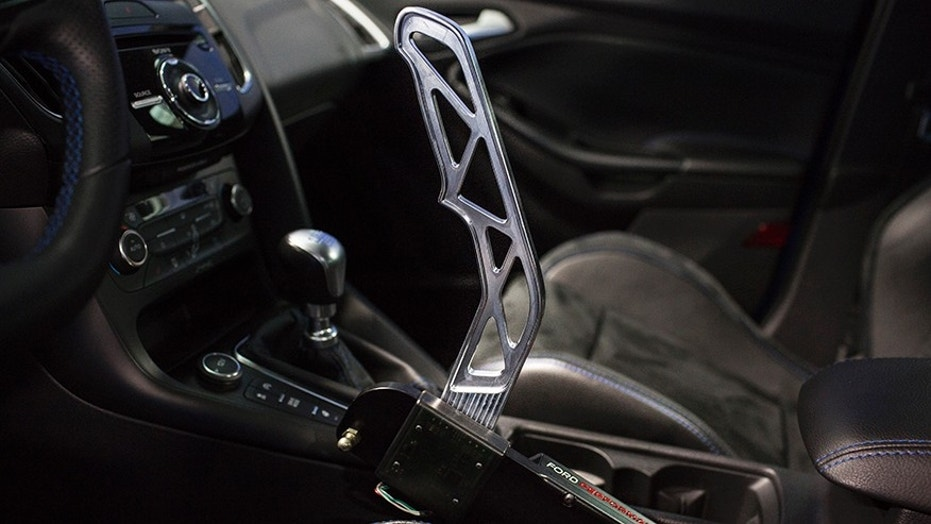 Ford's Drift Stick offers some manual control in an electronic world