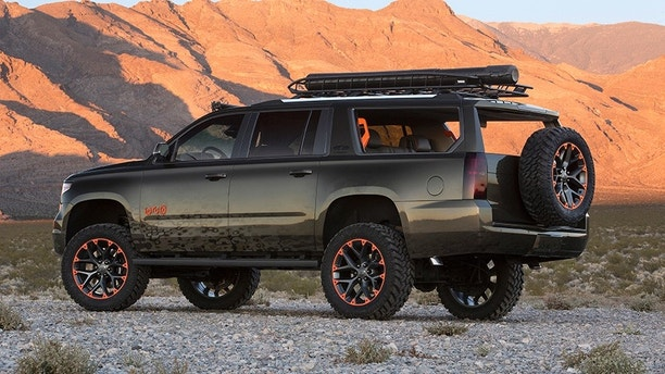 "Country music superstar Luke Bryan has teamed up with Chevrolet to create a bold, stylized Suburban concept introduced at the 2017 SEMA Show. The concept speaks to Luke's ""Huntin, Fishin' and Lovin' Every Day"" outlook."