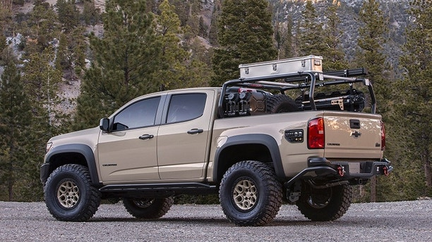 American Expedition Vehicles >> The Chevrolet Colorado ZR2 AEV is ready for adventure | Fox News