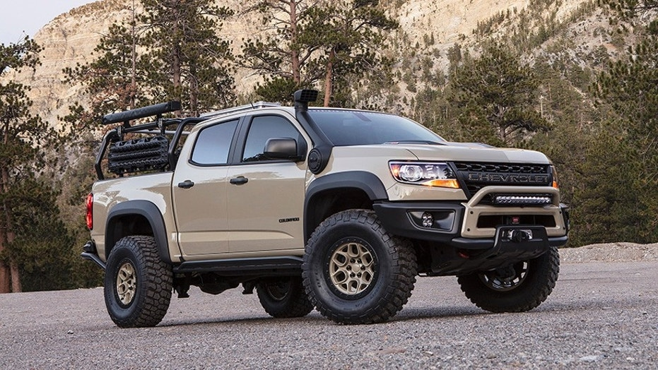 The Chevrolet Colorado Zr2 Aev Is Ready For Adventure