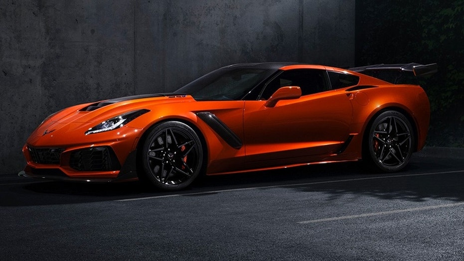 2019 Chevrolet Corvette ZR1 is GM\'s most powerful car ever | Fox News