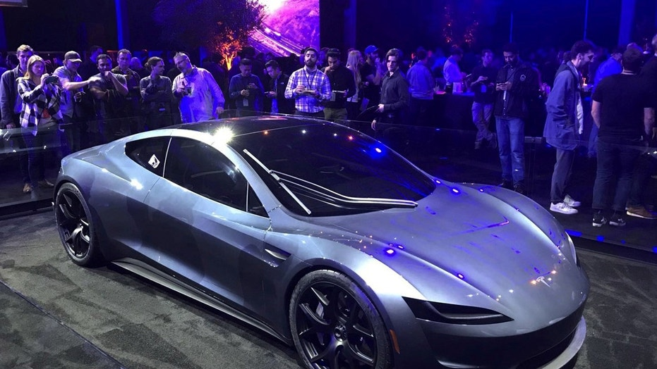 Tesla unveiled a new $200,000 roadster capable of going 0 to 60 miles per hour in 1.9 seconds, Thursday night near its design center in Hawthorne, California.