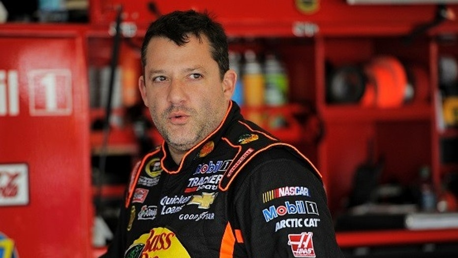 Woman arrested, faces multiple charges in stalking of Tony Stewart