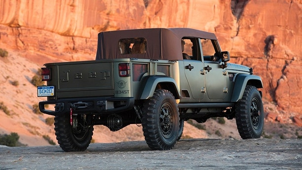 insider says convertible jeep scrambler pickup is coming in 2019 f3news. Black Bedroom Furniture Sets. Home Design Ideas