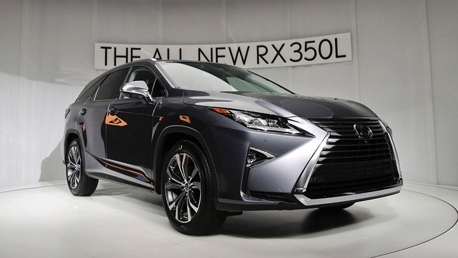 The 2018 Lexus Rx 350l Is Unveiled At Los Angeles Auto Show Wednesday