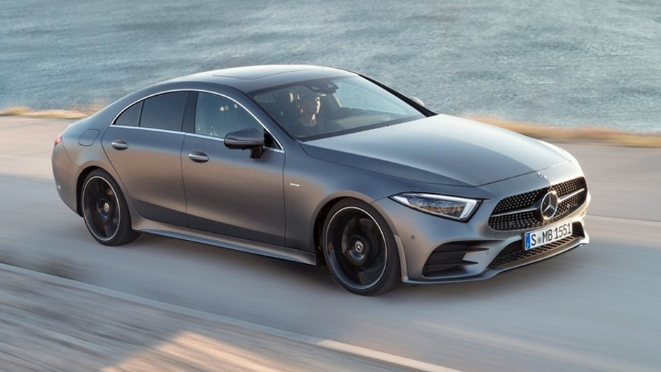la auto show the 2019 mercedes benz cls four door coupe brings back the straight 6 fox news. Black Bedroom Furniture Sets. Home Design Ideas