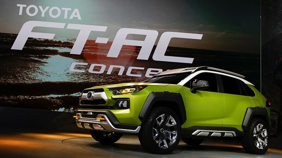 Toyota unveils all-terrain concept vehicle
