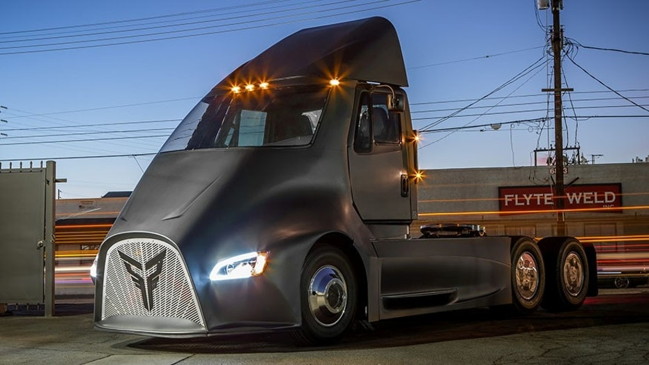 Thor Trucks arrives as the latest electric-semi competitor