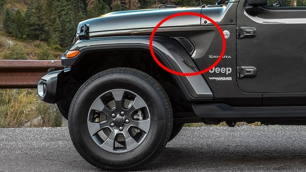 Here S Why The 2018 Jeep Wrangler Has Holes In Its Fenders