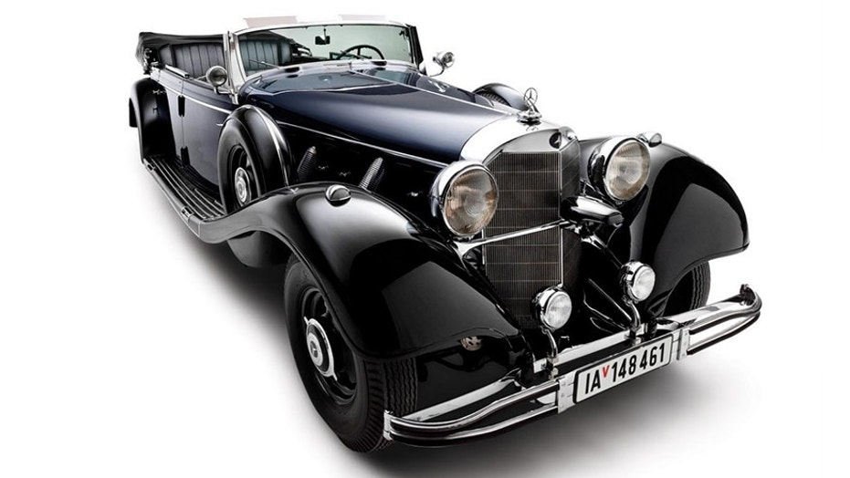 An infamous Mercedes-Benz used by Adolf Hitler to be auctioned in ...