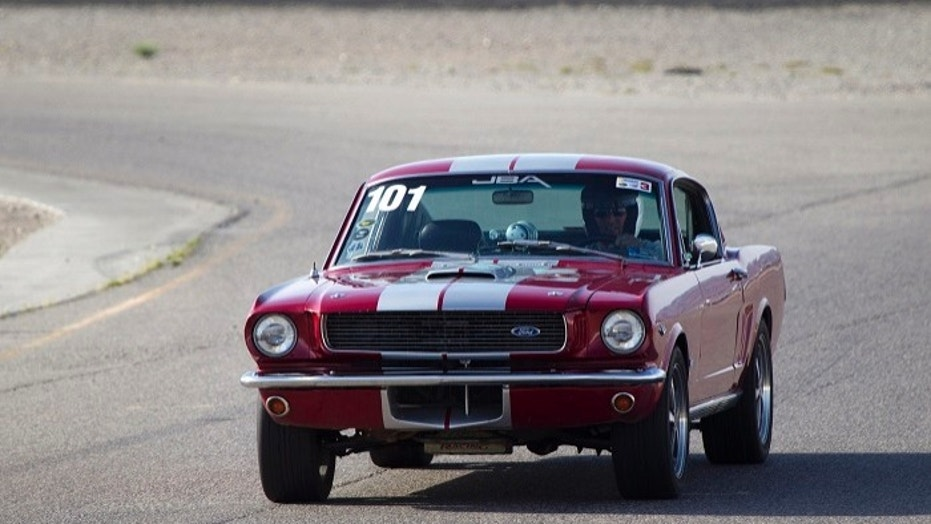 Police confiscated a 1966 Ford Mustang, like this one seen here, after it was reported stolen more than 30 years ago.