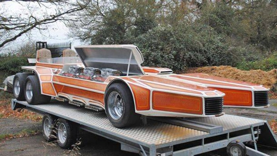 1975 George Barris Snakepit With 6 Ford V 8s Surfaces For