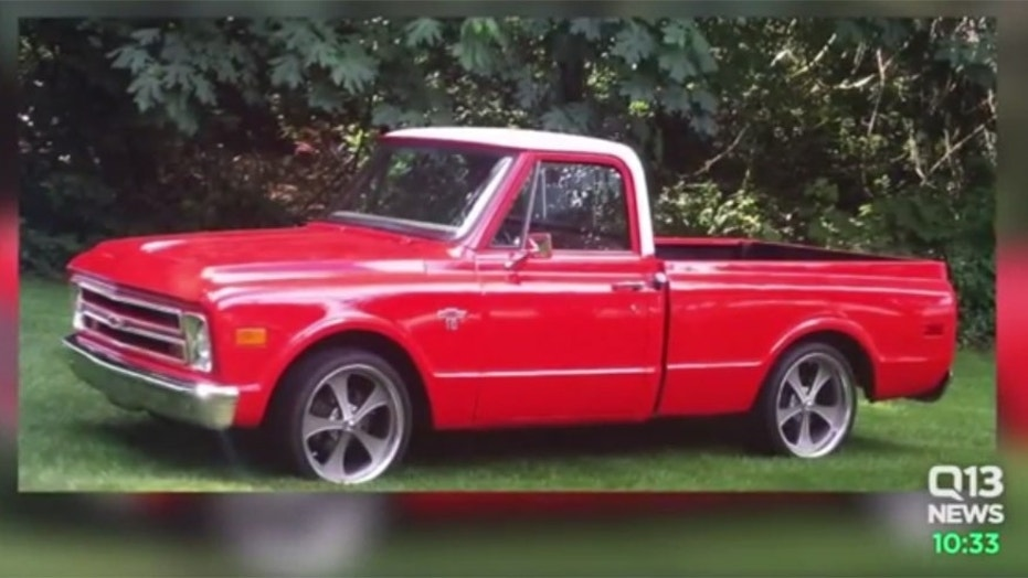Custom classic truck son built as tribute to his father stolen from ...