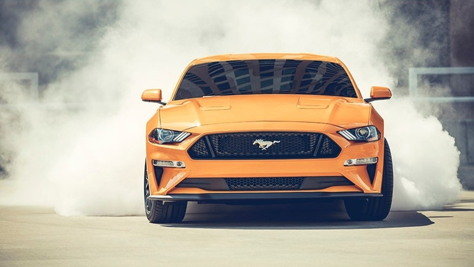 Sales of the new Mustang were hot in December.