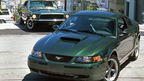 2001: Inspired by the 1968 Mustang 390 GT driven by Steve McQueen in the movie classic Bullitt, the Mustang Bullitt GT makes its debut
