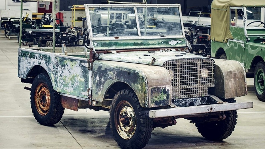 The car that launched Land Rover spent almost 30 years hiding in a ...