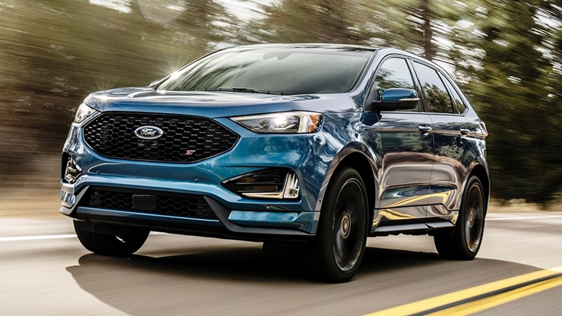 Detroit Auto Show Ford Enters Performance Suv Segment With Edge St Fox News