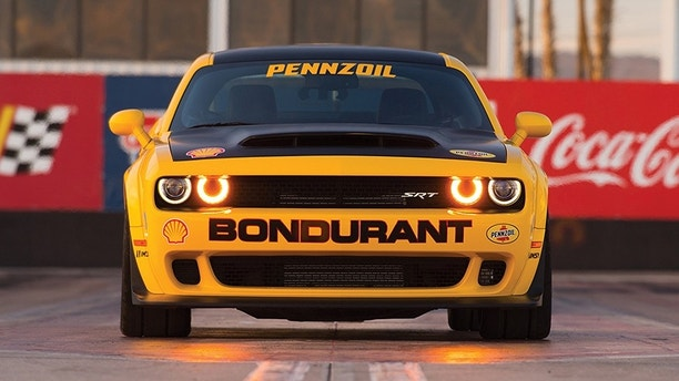 Dodge//SRT and the Bob Bondurant School of High Performance Driving Add a New Drag Racing Course Featuring the 840-horsepower Challenger SRT Demon