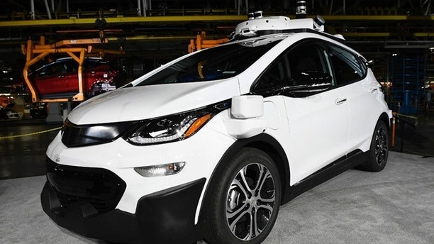 A version of the car with driver controls is currently being tested on public roads