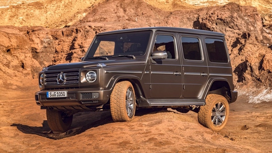 Detroit auto show the 2019 mercedes benz g class is an for Mercedes benz that looks like a jeep
