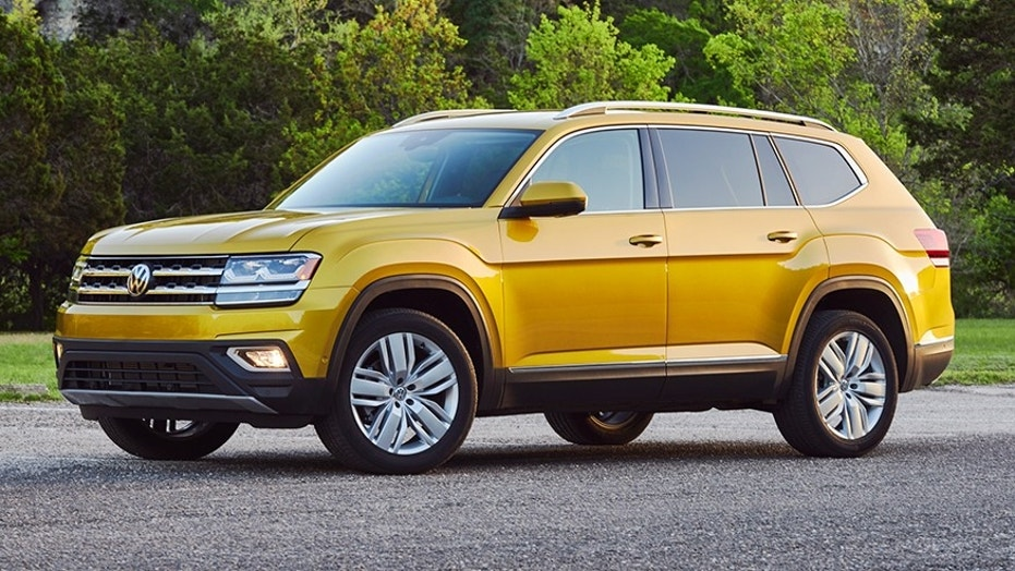 the 2018 volkswagen atlas is a titanic suv fox news. Black Bedroom Furniture Sets. Home Design Ideas