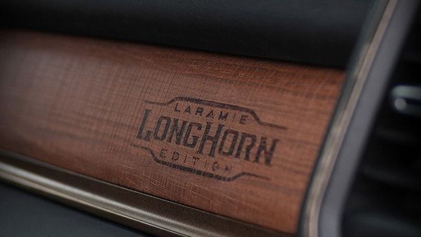 2019 Ram 1500 Laramie Longhorn – Wood and Wrapped Details