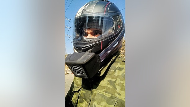 Motorcycle Air Conditioners : Are you a hothead this motorcycle helmet air conditioner