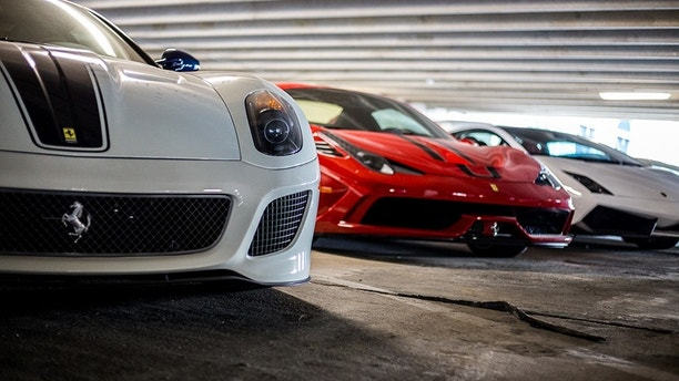 Dozens Of Sports Cars Worth Millions Found In Public Garage But - Sports cars pics