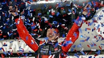 Feb 26, 2017; Daytona Beach, FL, USA; NASCAR Cup Series driver Kurt Busch (41) celebrates winning the 2017 Daytona 500 at Daytona International Speedway. Mandatory Credit: Peter Casey-USA TODAY Sports - 9902881